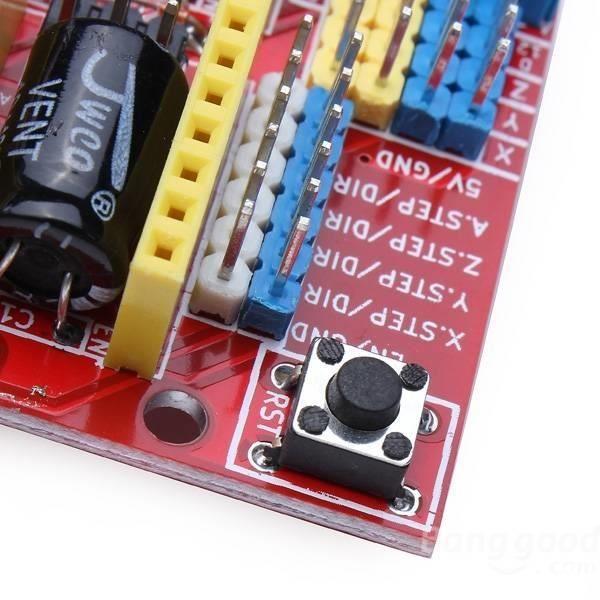 Arduino cnc shield v mikroelectron