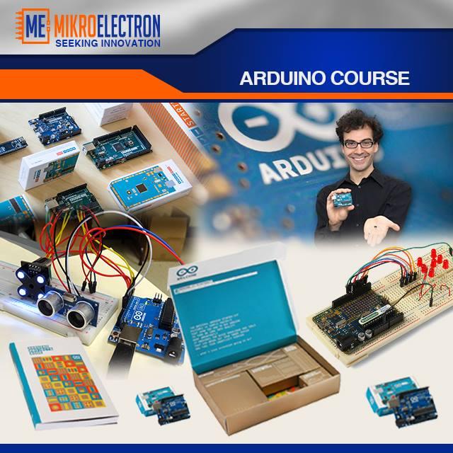 Advanced Arduino Course course mikroelectron amman jordan