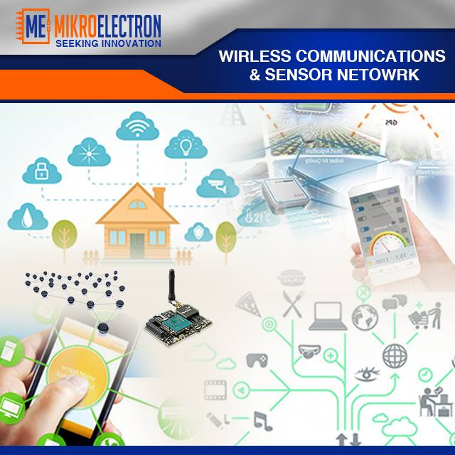 Wireless Communication & Sensors Network course mikroelectron amman jordan