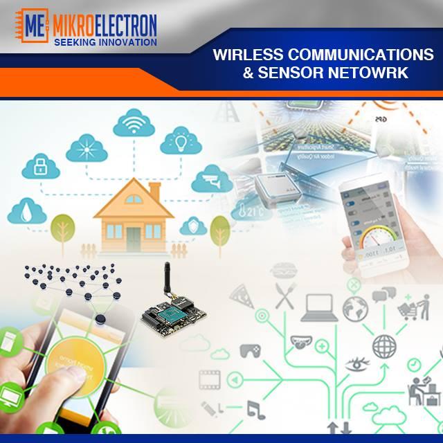 Wireless Communication & Sensors Network - Mikroelectron - Mikroelectron