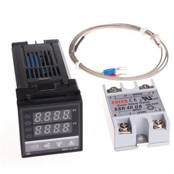 Digital Pid Temperature Controller Thermostat Rex