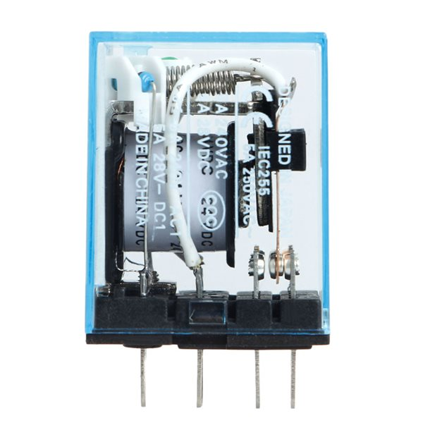 12V DC OMRON RELAY 8PIN DPDT - Mikroelectron mikroelectron ... Dc Pin Relay Wiring on