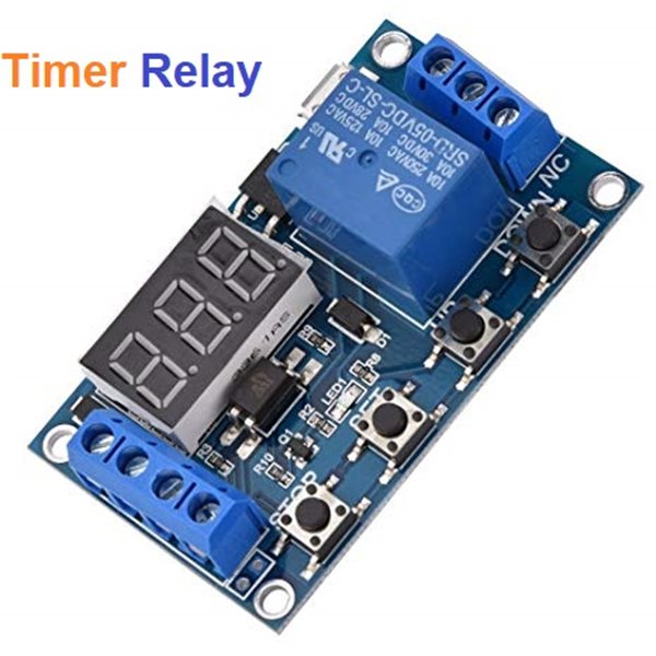 6v-30v Relay Module Switch Trigger Time Delay Circuit Timer Cycle AdjustableXUI