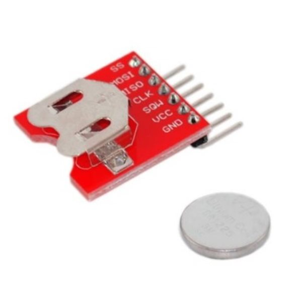 New DS3234 Ultra-precision Real-time Clock Module for Arduino